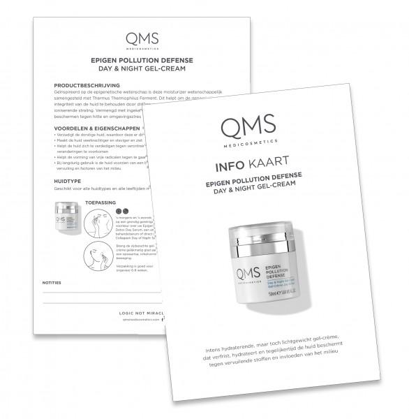 Infokarte A5 Epigen Pollution Defense Gel Cream NL